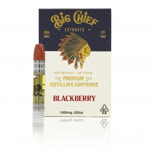 Big Chief Extracts Blackberry Kush