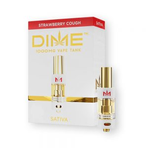 Dime Carts Strawberry Cough